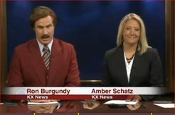 Ron Burgundy ~ The Anchorman II